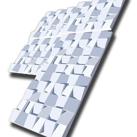 Modèle 3D gratuit plaque murale décorative, juanpix