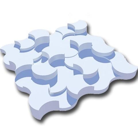 Free 3D printer file decorative wall plate, juanpix