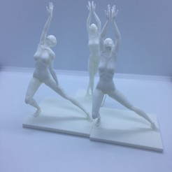 Free 3d print files body dancers, juanpix
