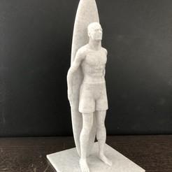 Télécharger fichier OBJ gratuit body surfeur • Plan imprimable en 3D, juanpix