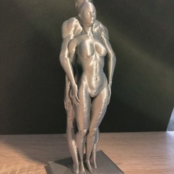 Free 3d print files couple man woman, juanpix