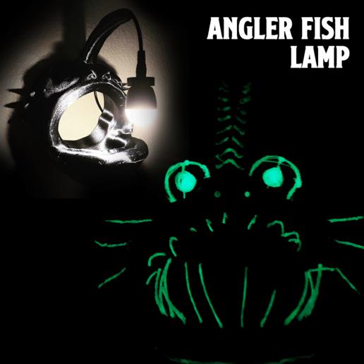 Télécharger fichier STL gratuit Lampe de pêche à la baudroie, coolthingsbyjacob