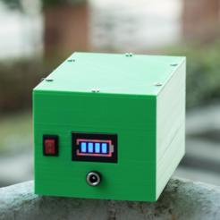 diseños 3d gratis Paquete de batería de 17 Ah 18650 (3S5P), deba168