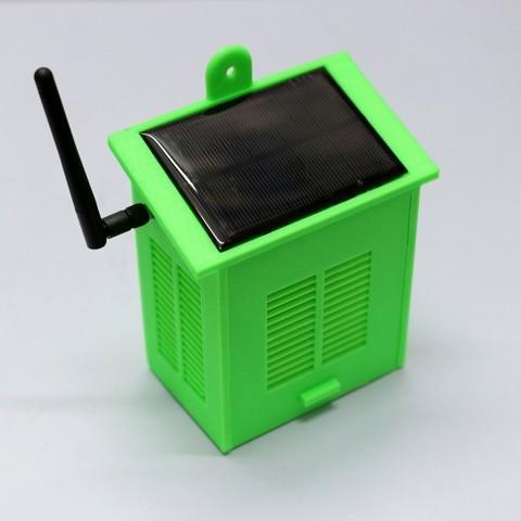 805f2dc22d31093787ea515cfb4c7d5d_display_large.JPG Télécharger fichier STL gratuit Station Météo WiFi Solaire V2.0 • Objet imprimable en 3D, deba168