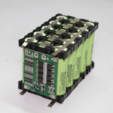 Free STL files 17 Ah 18650 Battery Pack ( 3S5P ), deba168
