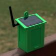 Free Solar Powered WiFi Weather Station 3D model, deba168