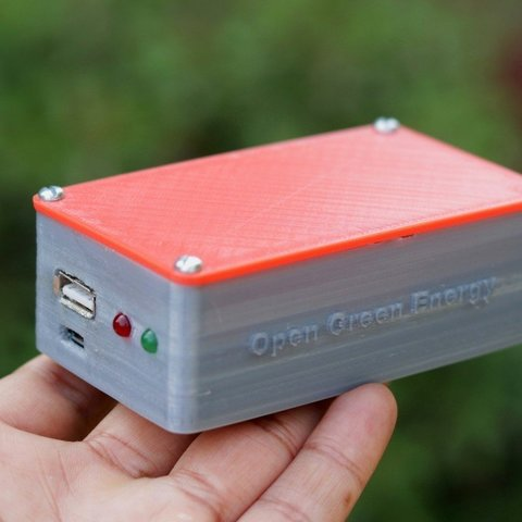 Download free 3D printer templates DIY Mini UPS for WiFi Router / Modem, deba168