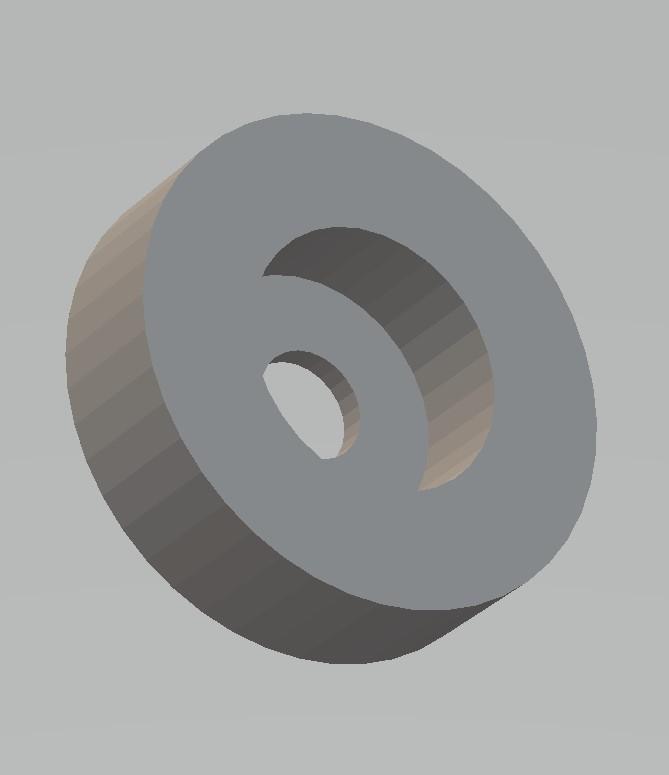 arandela definitiva 2.jpg Download free STL file pulley for blind rope 2 • 3D printer template, gabrielrf