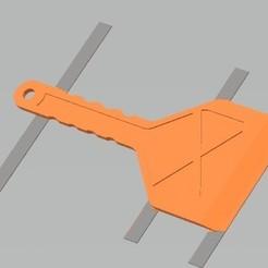Impresiones 3D gratis rasqueta hielo coche, gabrielrf