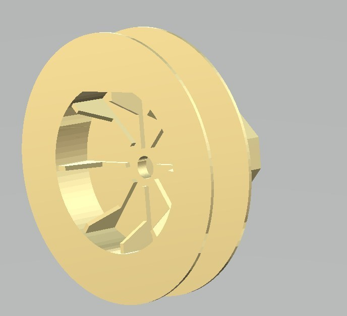 polea persiana3.jpg Download free STL file pulley for blind rope • Design to 3D print, gabrielrf