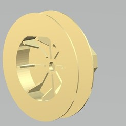 Download free STL file pulley for blind rope, gabrielrf