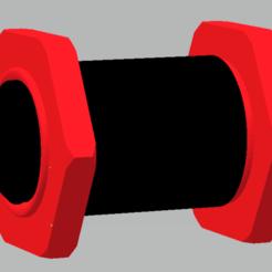 Free STL soporte filamento, gabrielrf