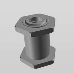 Descargar diseños 3D gratis soporte filamento, gabrielrf
