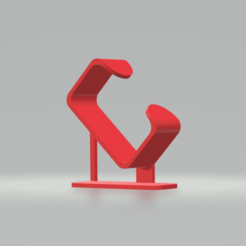Free 3D printer model clock display, gabrielrf