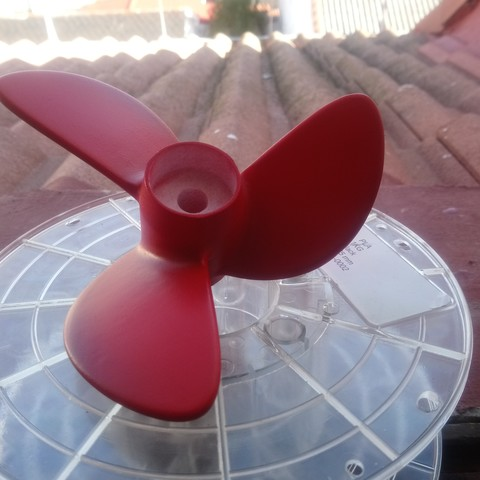 Free 3D printer model nautical propeller right sense, gabrielrf