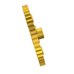 Descargar archivo 3D gratis corona diferenial central rc, gabrielrf