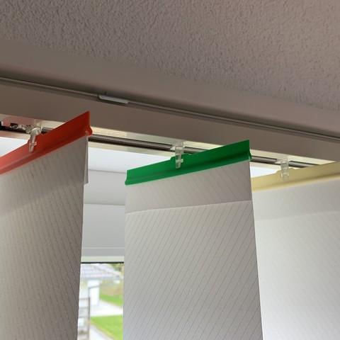 Télécharger plan imprimante 3D gatuit Attache et poids pour store à lamelle, Itzo