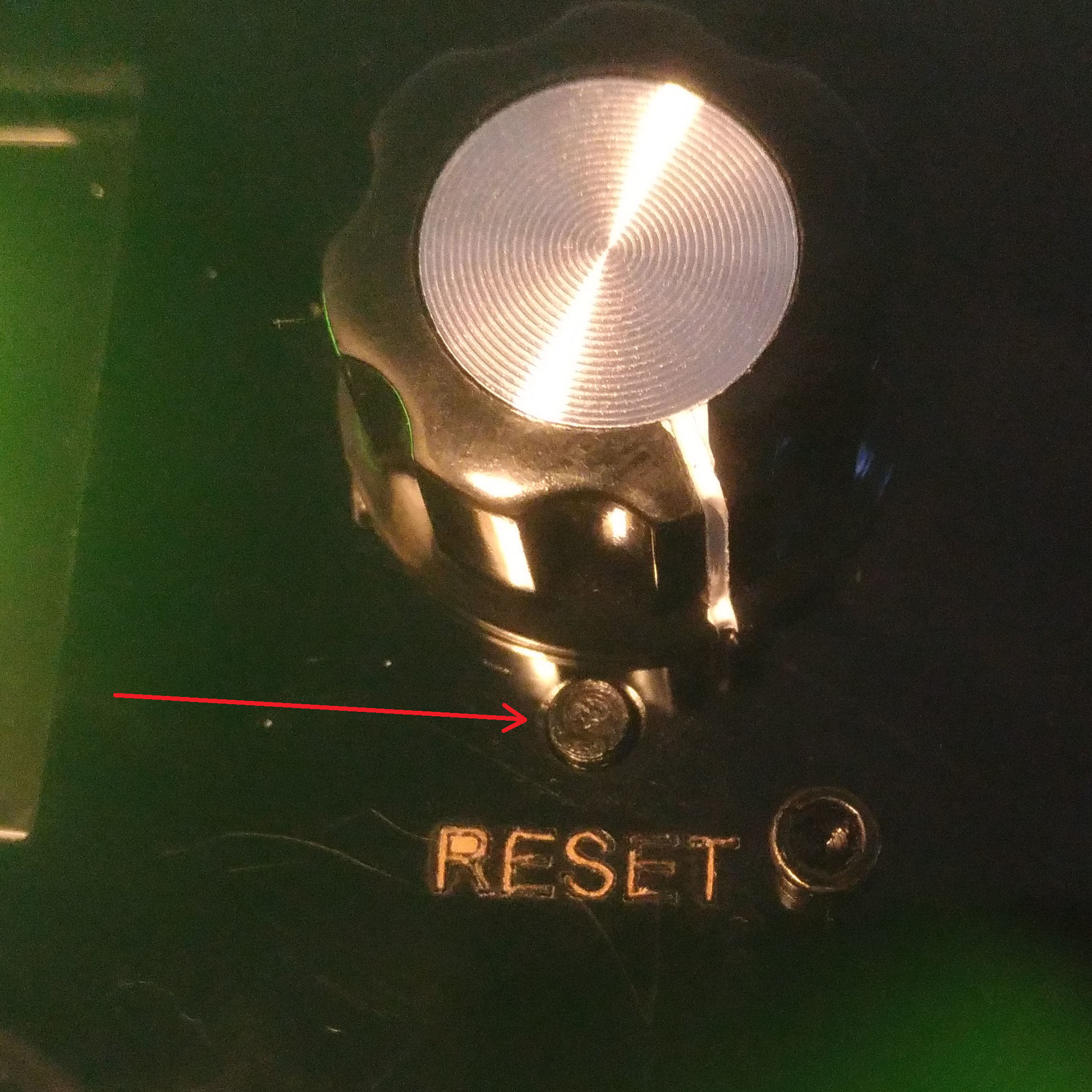Photo bouton reset.jpg Download free STL file Reset button for Geeetech Prusa I3 X • 3D printer template, FabLabduDon