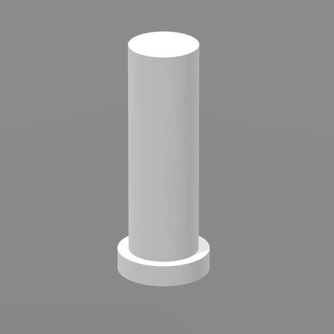 Bouton reset.png Download free STL file Reset button for Geeetech Prusa I3 X • 3D printer template, FabLabduDon