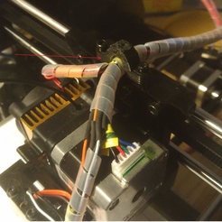 Download free 3D printer designs Cable tie for Geeetech Prusa I3X, FabLabduDon