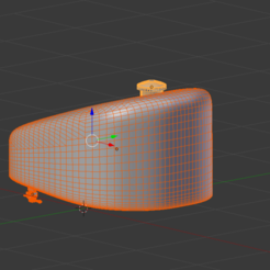 fuel tank.png Download STL file Motorbike Fuel Tank, Gas cap, fuel tap • 3D printable object, pathfinder646