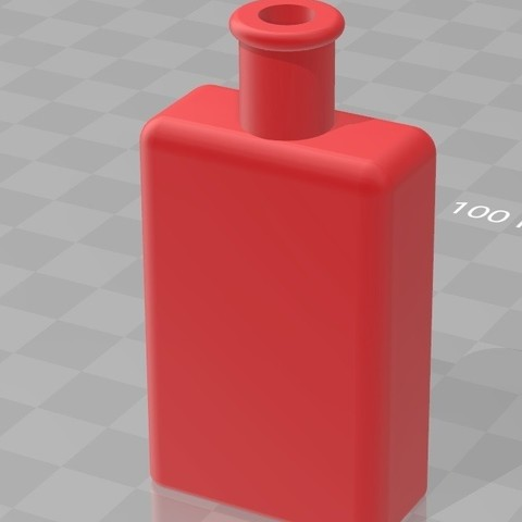 Download STL file small perfume bottle, DPRmodels