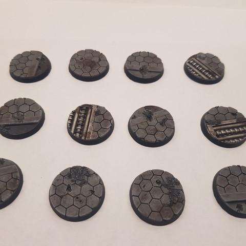 Download 3D printer designs 40k bases, DPRmodels