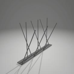 Imprimir en 3D gratis antipaloma, 3D-XYZ