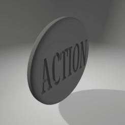 Download 3D printer designs action/truth token, 3D-XYZ