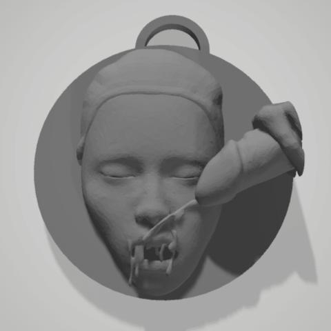 3D printer files key chain, 3d-3d-3d