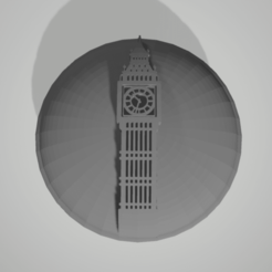 Sans titre.png Download STL file button big ben • 3D printing design, 3D-XYZ