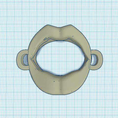 Sans titre.png Download STL file lips bdsm • Template to 3D print, 3D-XYZ