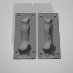 Download STL file dog penis mold cast • 3D printable design, 3D-XYZ
