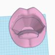 STL files mouth hand, 3d-3d-3d