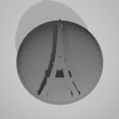 Sans titre.png Download STL file button eiffel tower paris • 3D printing design, 3D-XYZ