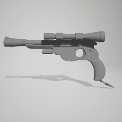1.png Download STL file STAR WARS MANDALORIAN Clone Pistol Cosplay V2 • 3D printable design, 3D-XYZ