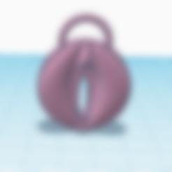 STL keychain vagina, 3d-3d-3d