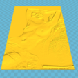 Download 3D model vintage litho woman, 3d-3d-3d
