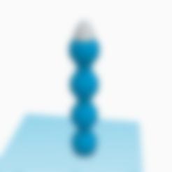 Download 3D printer files rocket, 3D-XYZ