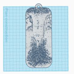 3D printer files keychain, 3d-3d-3d