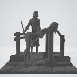 STL files torture scene 5, 3d-3d-3d