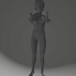 Download 3D print files female with colt, 3D-XYZ