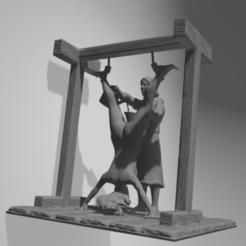 3D printing model torture scene 8, 3d-3d-3d