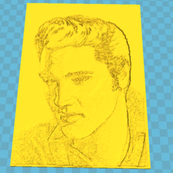 Download 3D printing designs Elvis litho, 3d-3d-3d