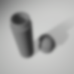 Download STL file bottle dick with holle, 3d-3d-3d