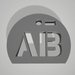 ab-.png Télécharger fichier STL lot 8 key chain pendant blood group rhesus • Design pour impression 3D, 3D-XYZ