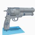 Download 3D printer designs HELLBOY smaritan Clone Pistol Cosplay, 3D-XYZ