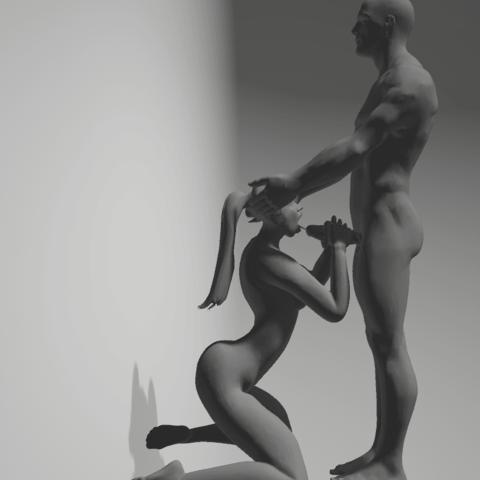 Download 3D printer templates buccal ejaculation, 3D-XYZ
