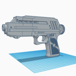 Download 3D printing files STAR WARS DC-17 Clone Pistol Cosplay, 3d-3d-3d