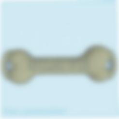os sans trou(1).stl Download STL file bone bdsm • Template to 3D print, 3D-XYZ